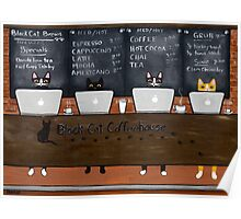 Black Cat Coffeehouse Poster