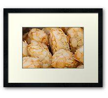 sweet biscuits Framed Print