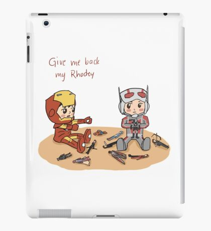 Give me back my Rhodey iPad Case/Skin