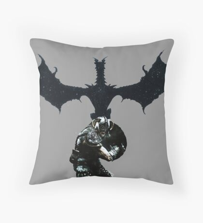 skyrim Throw Pillow