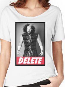 """Broken Matt Hardy """"Delete"""" Obey Women's Relaxed Fit T-Shirt"""