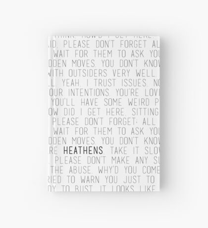 Heathens - Twenty One Pilots  Hardcover Journal
