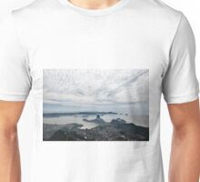 A beautiful panorama of the sugarloaf mountain and clouds Unisex T-Shirt