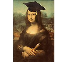 Mona Lisa Graduate Photographic Print