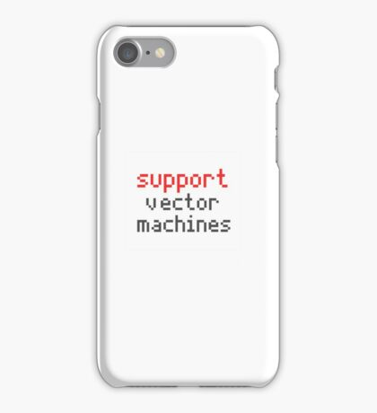 Support vector machines iPhone Case/Skin