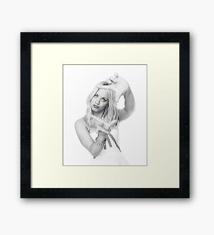 Mrs. Cuoco 2 Framed Print