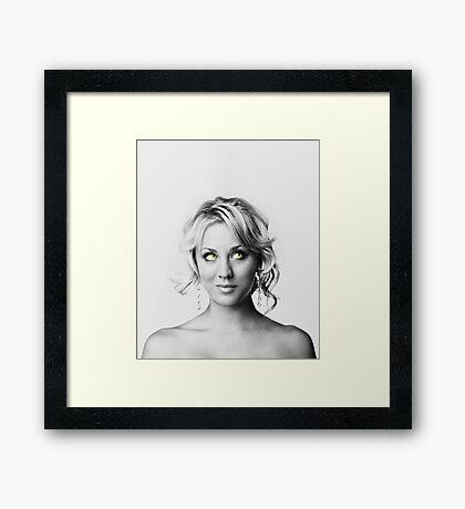 Mrs. Cuoco 3 Framed Print