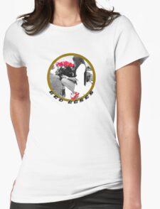 Red Roses Girl Womens Fitted T-Shirt