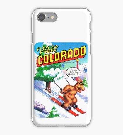 Colorado Ski CO United States of ALF Travel Decal iPhone Case/Skin
