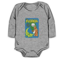 Florida Gator FL United States of ALF Travel Decal One Piece - Long Sleeve