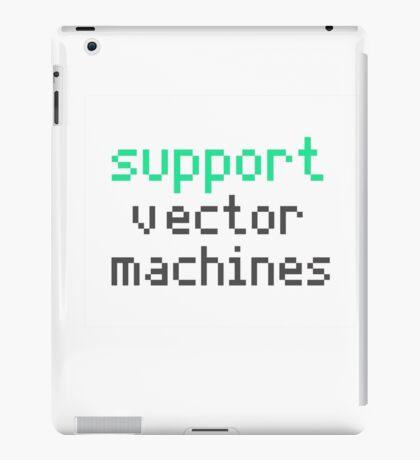 Support vector machines (green) iPad Case/Skin