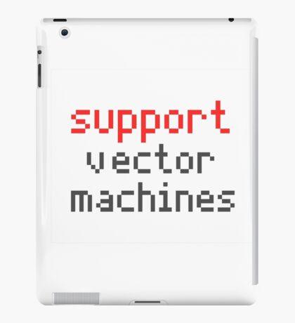 Support vector machines iPad Case/Skin