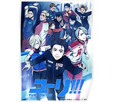 Yuri!!! on Ice poster Poster