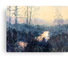 Sunset on Skipwith Common Metal Print