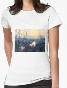 Sunset on Skipwith Common Womens Fitted T-Shirt