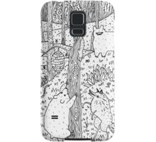Diurnal Animals of the Forest Samsung Galaxy Case/Skin