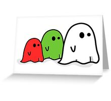 GHOST`S Greeting Card
