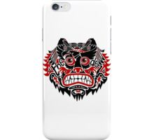 Bear / Birds / Bike - The Den iPhone Case/Skin