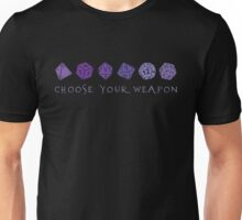 Choose Your Weapon | RPG Unisex T-Shirt