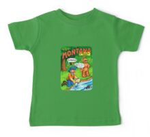 Montana Gold Rush United States of ALF Travel Decal Baby Tee