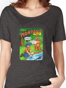 Montana Gold Rush United States of ALF Travel Decal Women's Relaxed Fit T-Shirt