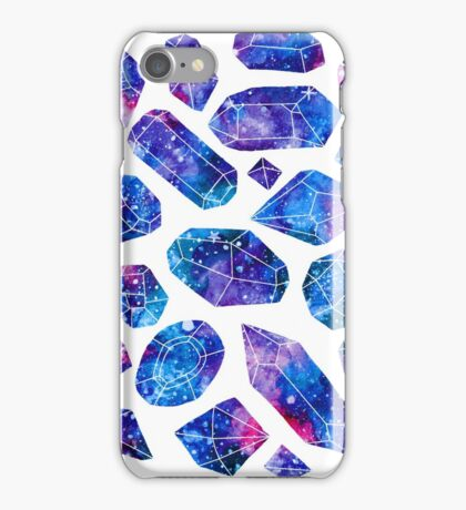 Galaxy crystals iPhone Case/Skin