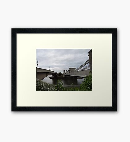 Knowing The Path & Walking The Path Framed Print