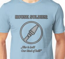 Team BLU - House Soldier Unisex T-Shirt