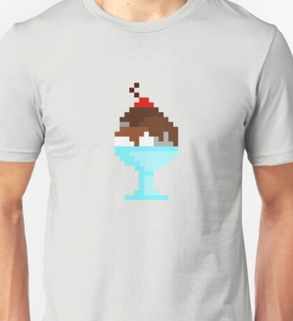 Pixel Ice Cream Unisex T-Shirt