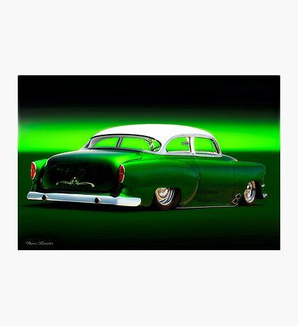 1954 Chevrolet Rad Custom Bel Air Photographic Print