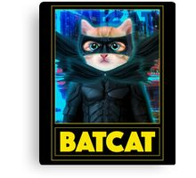 BAT CAT Canvas Print