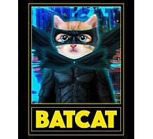 BAT CAT Photographic Print