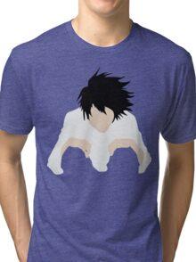 L DEATH NOTE Tri-blend T-Shirt