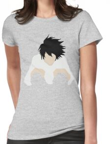 L DEATH NOTE Womens Fitted T-Shirt