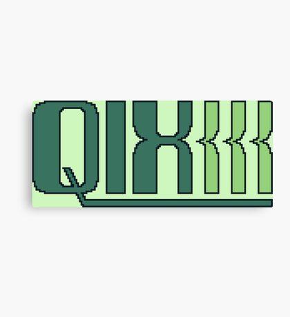 Qix (Game Boy Title Screen) Canvas Print