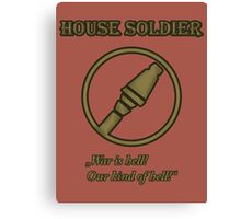 Team RED - House Soldier Canvas Print