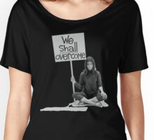 "Women's Movement ""We Shall Overcome"" Women's Relaxed Fit T-Shirt"