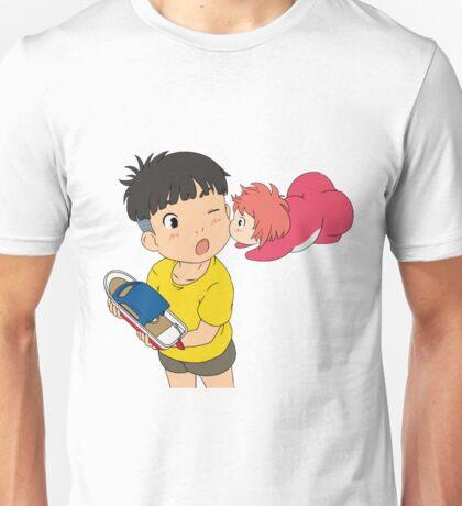 Ponyo Loves Sosuke Unisex T-Shirt