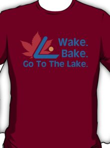 Defending Awesome - Wake Bake Go To The Lake T-Shirt