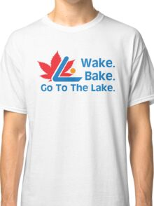 Defending Awesome - Wake Bake Go To The Lake Classic T-Shirt