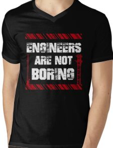 Funny Sayings About Engineers Mens V-Neck T-Shirt