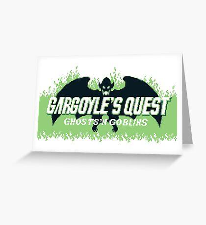 Gargoyle's Quest (Game Boy) Greeting Card