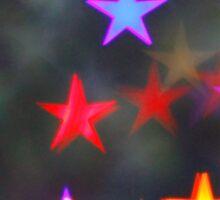 Starry Lights - Lomography Daguerreotype Achromat Photograph Sticker