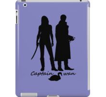 Captain Swan version 2 iPad Case/Skin