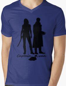 Captain Swan version 2 Mens V-Neck T-Shirt