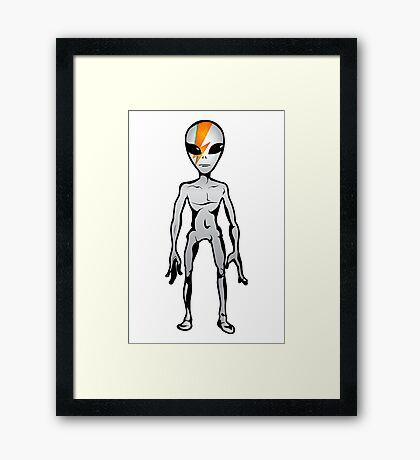 Alien Sane 2 Framed Print