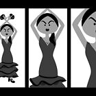Flamenco Dancer by Sonia Pascual