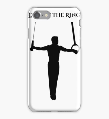 Lord of Gymnastics Rings iPhone Case/Skin