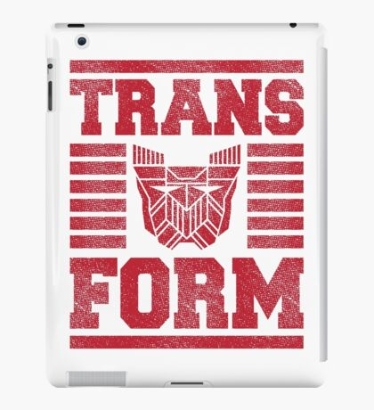 TRANSFORM iPad Case/Skin