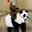 Ancient Panda Warrior by pda1986